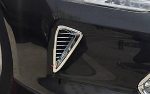 Toyota Сamry V55 хром накладки вставки в диффузоры воздухозаборники