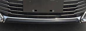 Toyota Сamry V55 хром накладка на передний бампер верхняя