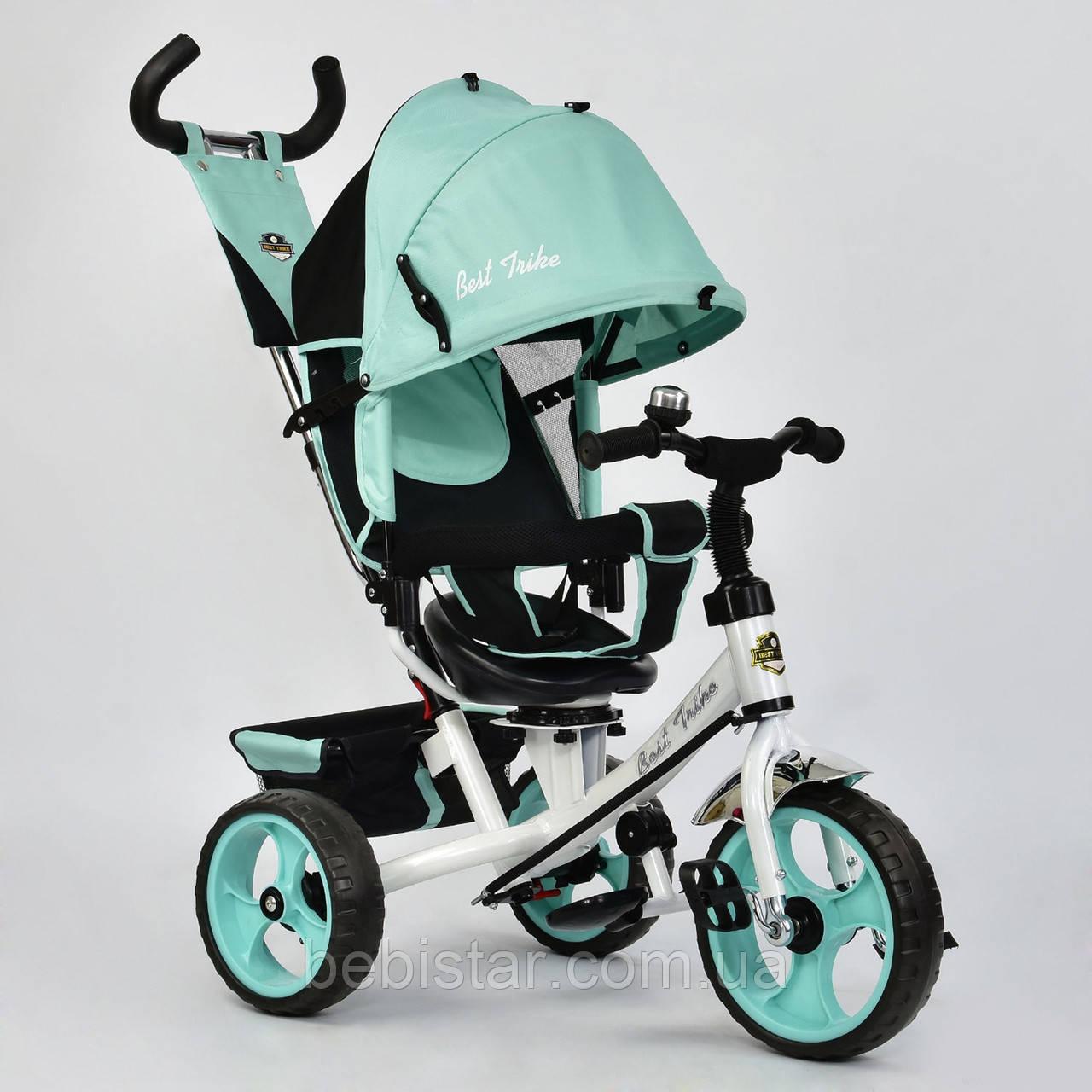 """Детский трехколесный велосипед """"Best Trike 6570"""" бирюза"""