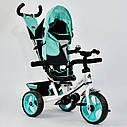"Детский трехколесный велосипед ""Best Trike 6570"" бирюза, фото 2"