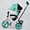 "Детский трехколесный велосипед ""Best Trike 6570"" бирюза, фото 3"