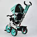 "Детский трехколесный велосипед ""Best Trike 6570"" бирюза, фото 4"