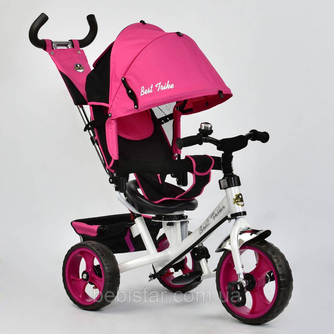 """Детский трехколесный велосипед """"Best Trike 6570"""" розовый"""