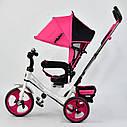 """Детский трехколесный велосипед """"Best Trike 6570"""" розовый , фото 3"""
