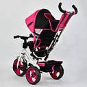 """Детский трехколесный велосипед """"Best Trike 6570"""" розовый , фото 4"""