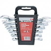 Набор рожковых ключей 6-17 мм, 6 шт., CrV, хромированные MTX 152319
