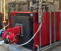 Котел газовый жаротрубный водогрейный Колви 120 (140 квт)