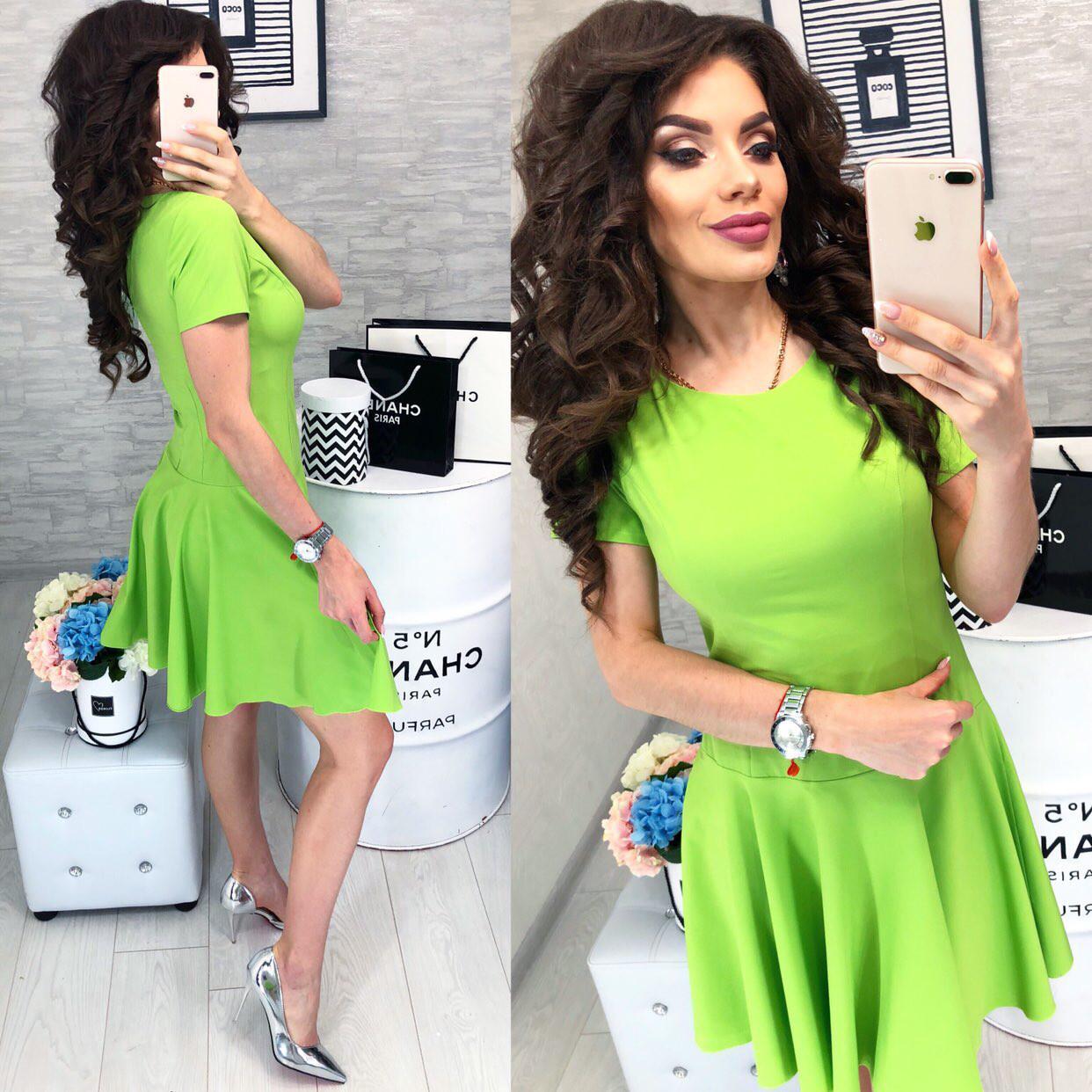Платье арт. 103/2 зеленое