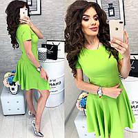 Платье арт. 103/2 зеленое, фото 1