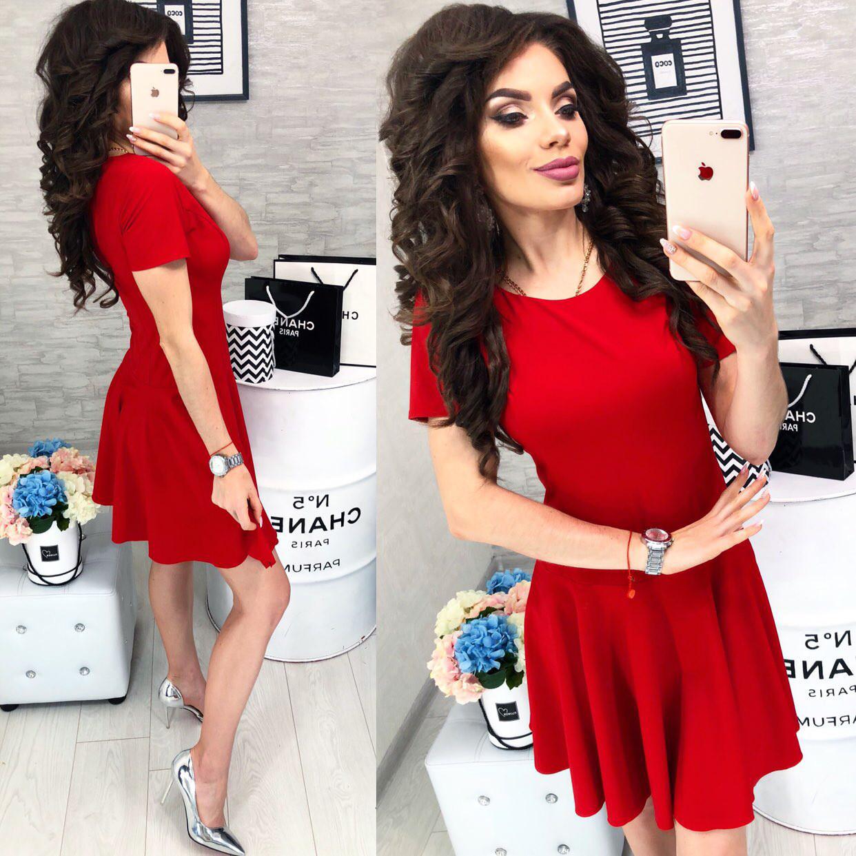 Платье арт. 103/2 красное