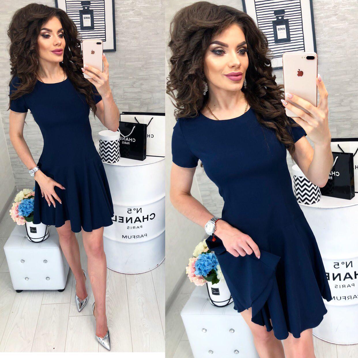 Платье арт. 103/2 синее