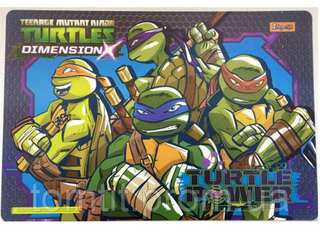 "Подложка пластиковая ""Ninja Turtles - Черепашки ниндзя"" , ТМ ""1 Вересня"", фото 2"