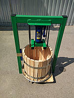 Пресс для яблок 25л с домкратом, давление 5 тон.