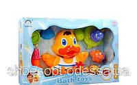 Игрушка для ванной Уточка водопад рыбки, ситечки
