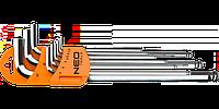 Ключи шестигранные, 1.5-10 мм, набор 9 шт, NEO 09-515