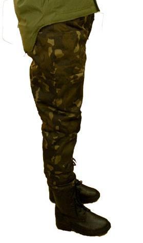 Брюки (штаны) утепленные ОТ Синтепон камуфляж Лес (Дубок) Украина