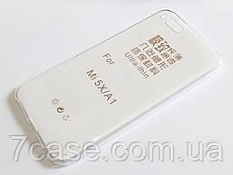 Чехол для Xiaomi Mi A1 / Mi 5X силиконовый ультратонкий прозрачный