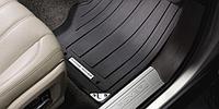 Оригинальные резиновые ковры в салон RANGE ROVER с 2013- / правый руль / цвет:черный