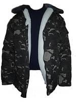 """Бушлат """"Армейский"""" евро овчина,брюки камуфляж, полукомбезы теплые. Подарок! Полная распродажа!!!"""