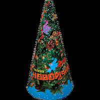 Вулкан Новогодний (VK-3), высота искр: до 2 м, время: 60 с, эффект: мощный поток серебряных искр