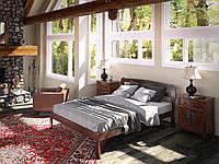 """Кровать из натурального дерева """"Айрис"""""""