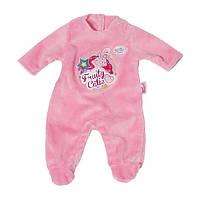 Сертифицированная компания Подробнее. 340UAH. 340 грн. В наличии. Одежда  для куклы Беби Борн - Велюровый комбинезон розовый Baby Born Zapf Creation  822128R 4abf050bc3304