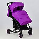 Коляска-качалкафиолетовая JOY Т 609 Violet  деткам от 1 до 3 лет, фото 2