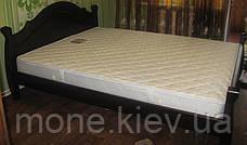"""Кровать """"Корона"""" двуспальная из натурального дерева, фото 2"""