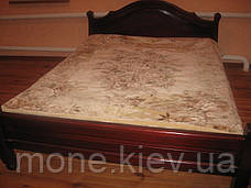"""Кровать """"Корона"""" двуспальная из натурального дерева, фото 3"""