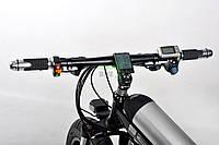 Электровелосипед складной для детей Ultra Bike черный Bmw на двигателе 500 Вт популярный