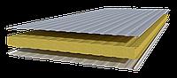 Стеновые сэндвич-панель с наполнителем из минеральной ваты 250 мм