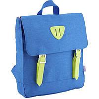 Рюкзак Kite K18-546XS-3 синий 30х27х5,5 см, полиэстер, 1 отделение, 1 передний карман, 315 гр