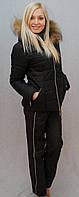 Костюм зимний чёрный, фото 1