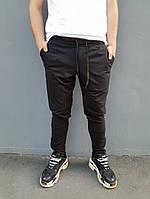 Мужские черные штаны Quest Wear / молодежные летние |  реплика