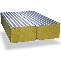 Стеновые сендвич панели с наполнителем из минеральной ваты 80 мм