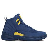 Баскетбольные кроссовки Air Jordan 12 Retro 'Michigan', фото 1