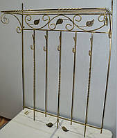 Кованая вешалка №1, фото 1