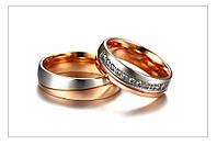 Обручальное кольцо из нерж.стали 316L-LOVE!