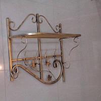 Кованая вешалка Профиль 80 см, фото 1