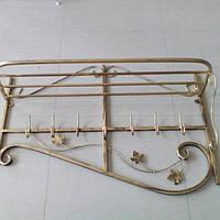 Кованая вешалка Профиль 100 см, фото 1