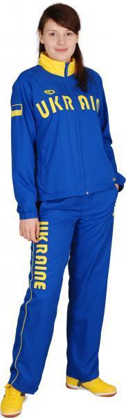 Костюм Europaw Украина полиэстер женский синий