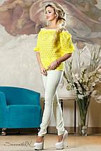 Женская летняя блузка с открытыми плечами (2138-2136-2137-2140 svt), фото 3