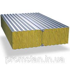 Стеновые сендвич-панели, наполнитель  минеральная вата 200 мм