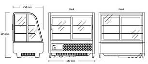 Холодильная витрина Scan RTW 100, фото 2