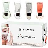 Academie Набор масок для процедуры «Мульти-маскинг», 4 шт. Х 20мл, фото 5