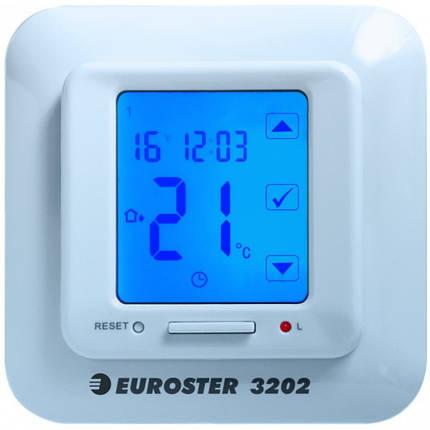 Терморегулятор кімнатний сенсорний Euroster 3202, фото 2