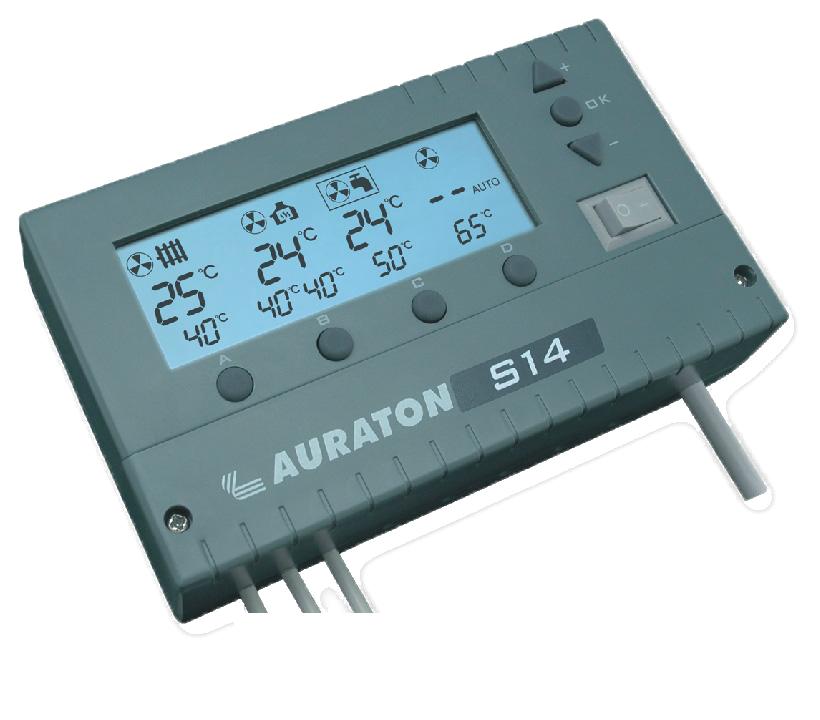 Контролер AURATON-S14 для твердопаливного котла