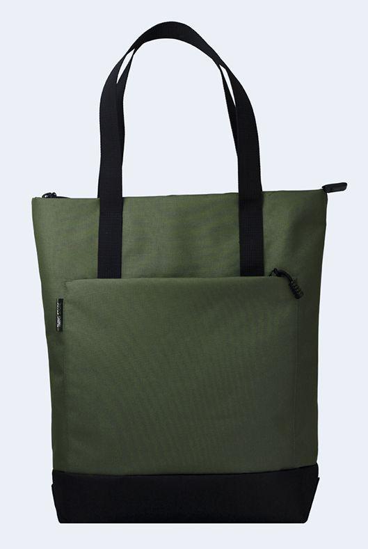 a04add56f462 Женская сумка шоппер TwinsStore Ш149, тканевая, зеленая — только ...