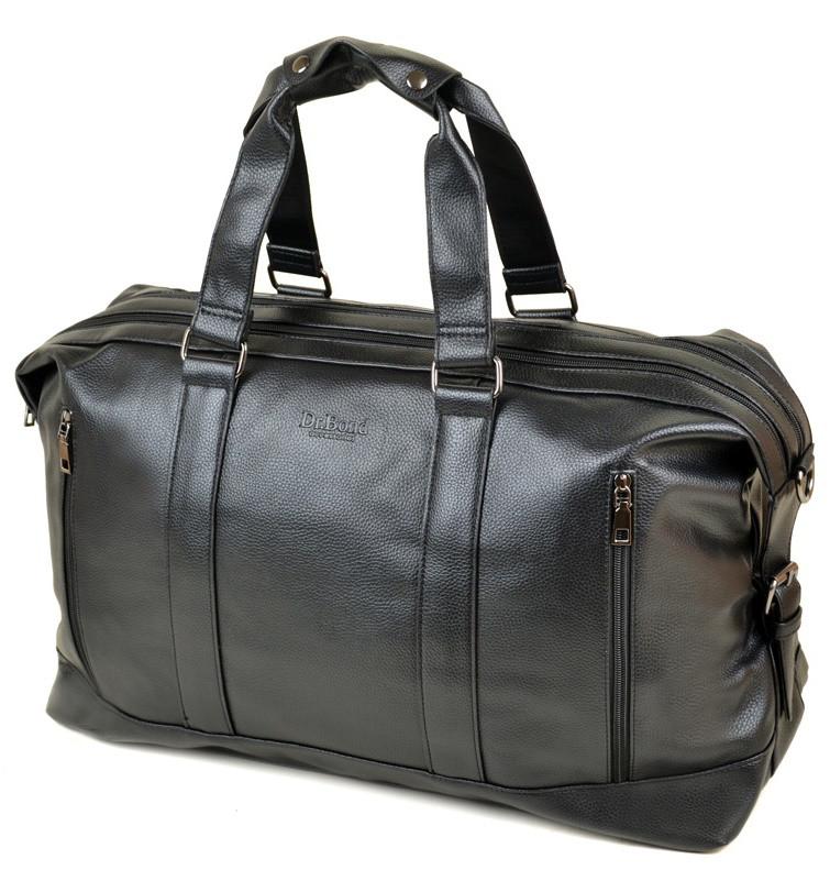 Мужская дорожная сумка DR. BOND 8714 black купить недорого дорожную сумку  искусственная кожа 01c3f205f15