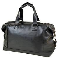 Мужская дорожная сумка DR. BOND 8710 black купить недорого дорожную сумку искусственная кожа